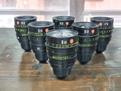 Used Leica Summicron-C Cinema Lens Set 6pcs