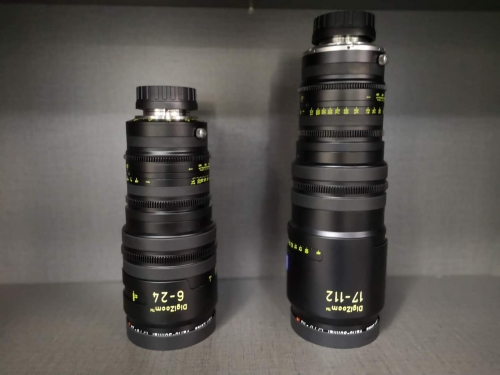New Zeiss Digizoom 6-24/17-112mm Lens Kit