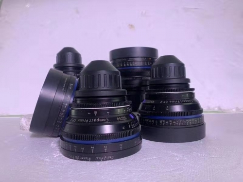 Used ZEISS CP.2 Lens Set 5pcs