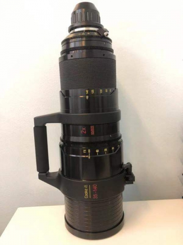 Used Cooke Anamorphic Zoom Lens 35-140