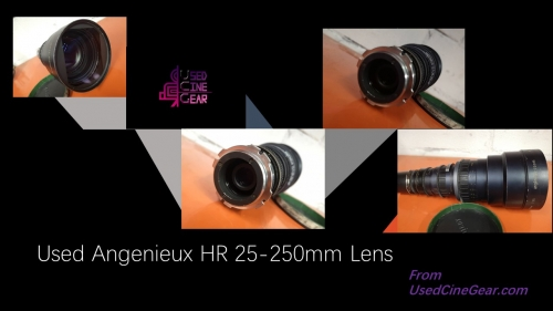 Used Angenieux HR 25-250mm Cinema Zoom Lens