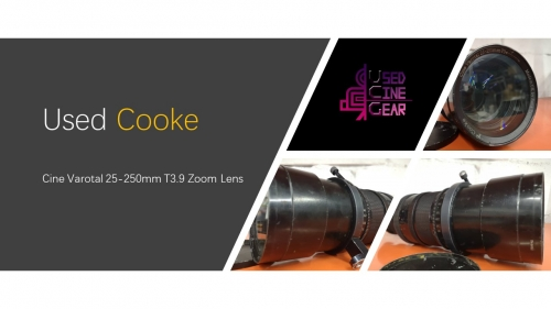 Used Cooke Cine Varotal 25-250mm T3.9 Zoom Lens