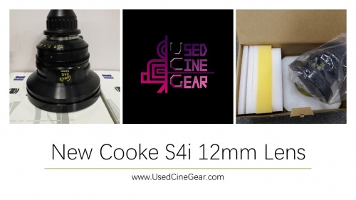 New Cooke S4i 12mm Wide-Angle Lens