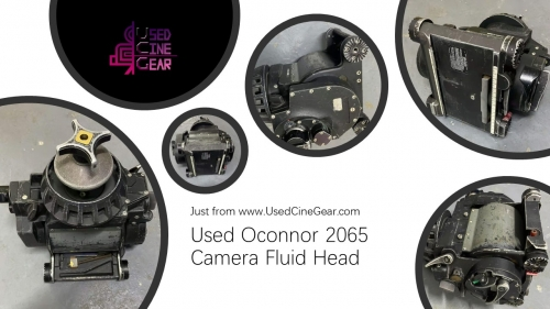 Used Oconnor 2065 Camera Fulid Head